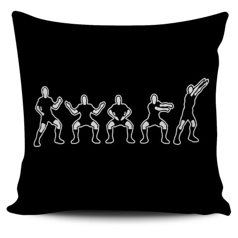 New Zealand Pillow Cover Haka Rugby Exclusive Edition 02 K4 - 1st New Zealand