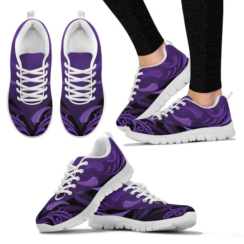 Silver Fern New Zealand Sneakers Purple K55 - 1st New Zealand