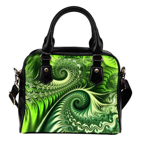 New Zealand Koru Shoulder Handbag - Abstract Style K4 - 1st New Zealand