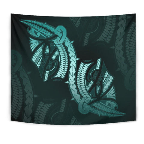 Polynesian Tapestry Turquoise TH5 - 1st New Zealand