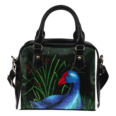 New Zealand Shoulder Handbag Pukeko TH1 - 1st New Zealand