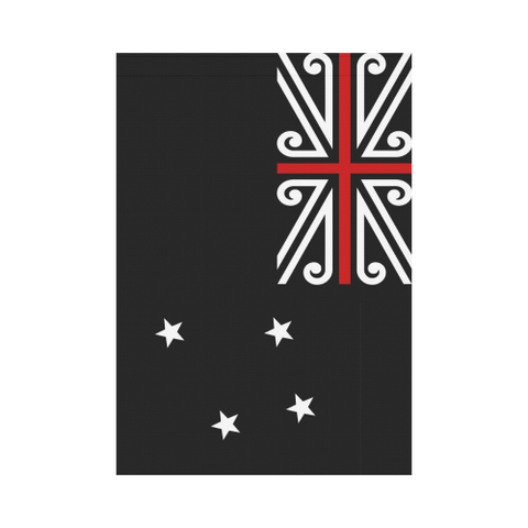 New Zealand Black Jack Garden Flag K4 - 1st New Zealand
