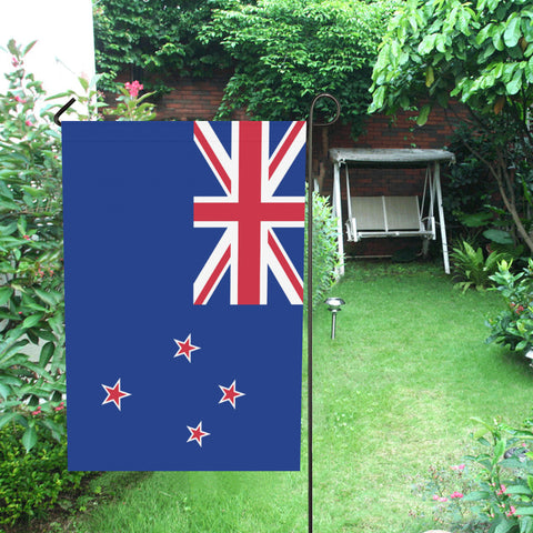 Image of New Zealand National Garden Flag - garden flags, new zealand garden flag, flag new zealand, home decor