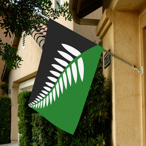 New Zealand Fern Garden Flag K4 - 1st New Zealand