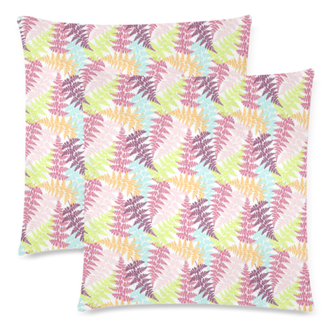 New Zealand Fern Leaves Pattern Zippered Pillow Cases 21