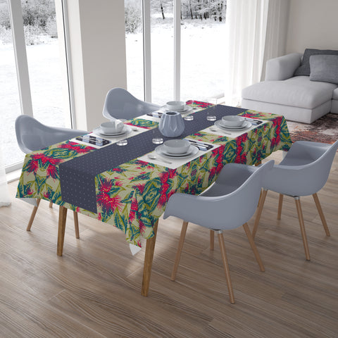 Image of New Zealand Pohutukawa Tablecloth - 1st New Zealand
