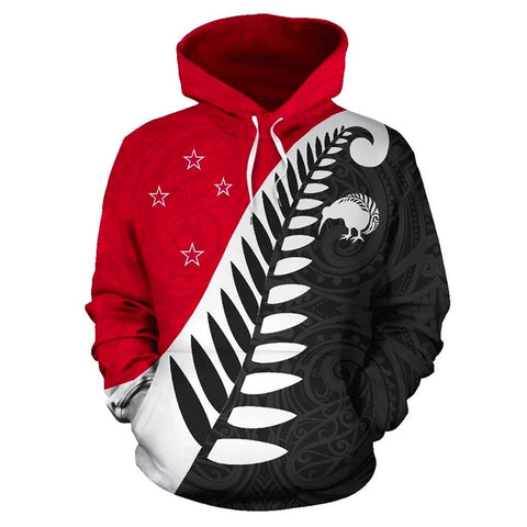 Image of Koru Fern New Zealand Hoodie K9