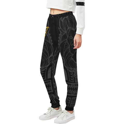 Image of New Zealand Maori Lion Rugby Sweatpants K5 - 1st New Zealand