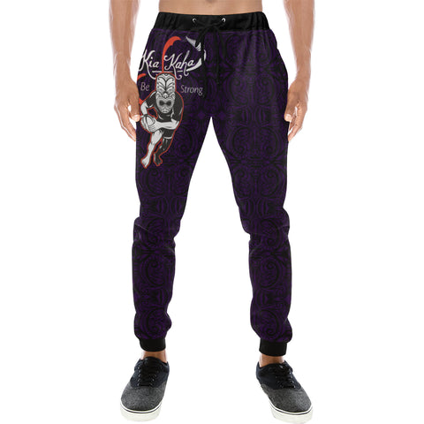 Rugby Haka Be Strong Ver - Dark Blue - sweatpants for men/women