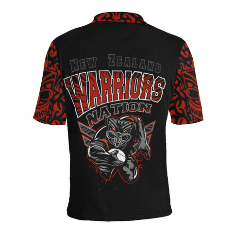 New Zealand Warriors Polo T Shirt Unique Style K4