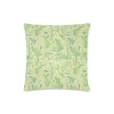 New Zealand Fern Leaves Pattern Zippered Pillow Cases 09