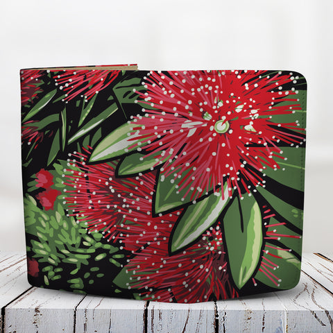 Pohutukawa New Zealand Wallet 02 K5 - 1st New Zealand