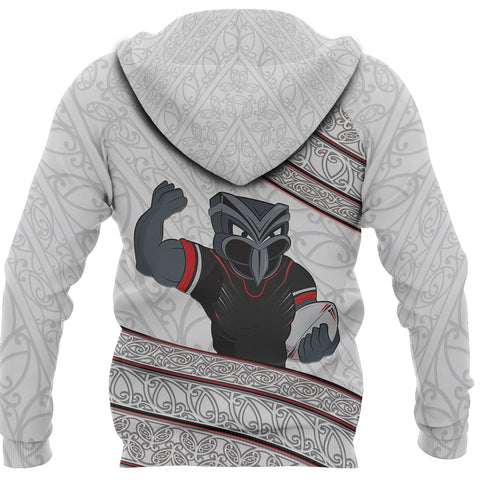 New Zealand Warriors Hoodie Champion 2019 back