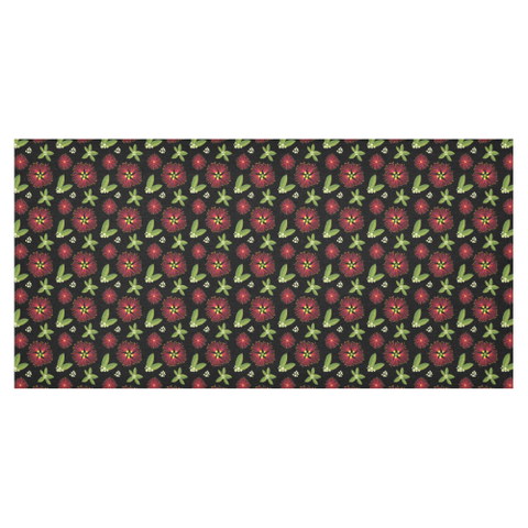 Image of New Zealand Pohutukawa Colourful Tablecloth - 1st New Zealand