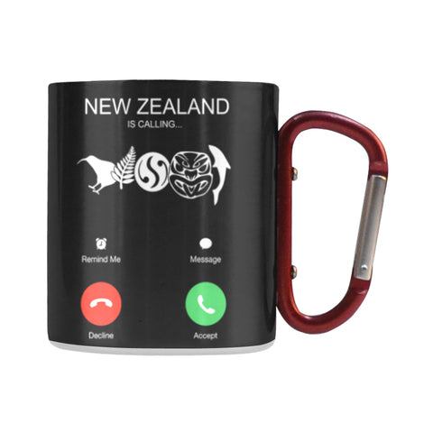 New Zealand is Calling Insulated Mug K5 - 1st New Zealand