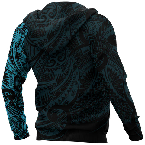 Image of Maori Hoodie, New Zealand Maori Tattoo All Over Print Hoodie A7 - 1st New Zealand