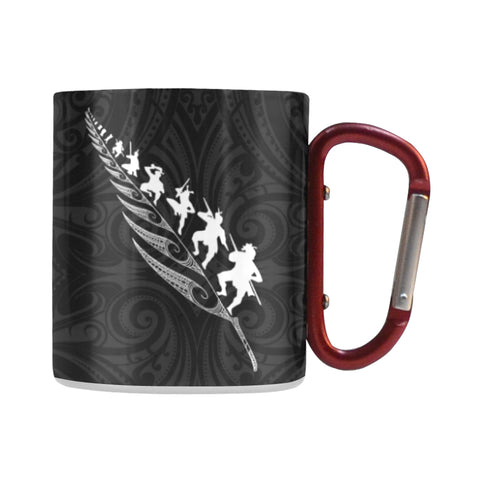 Rugby Haka - New Zealand Insulated Mug K4 - 1st New Zealand