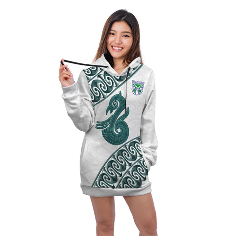 Manaia Warrior Hoodie Dress TH0 - 1st New Zealand