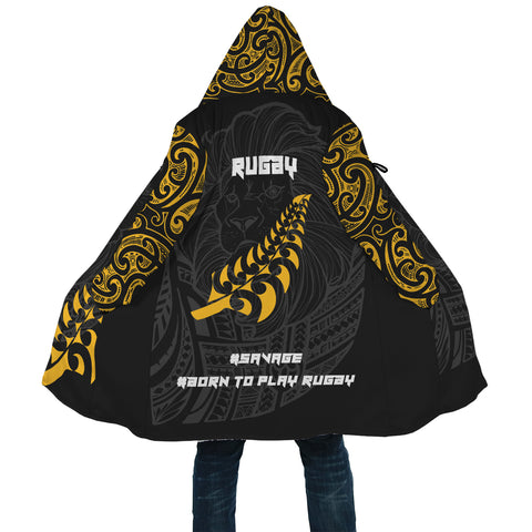 Image of New Zealand Maori Lion Rugby Cloak K5 - 1st New Zealand