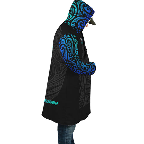 Image of New Zealand Maori Lion Rugby Cloak - Blue K5 - 1st New Zealand