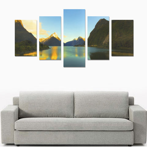 Image of Milford Sound South Island Canvas Print K4 - 1st New Zealand