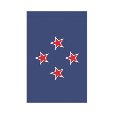 Image of New Zealand New Southern Cross Garden Flag K4
