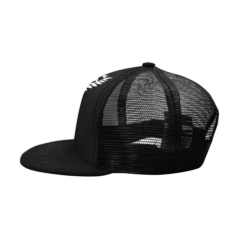 Image of Custom - Lest We Forget Silver Fern Anzac Trucker Hat Personal Signature - Black K5 - 1st New Zealand