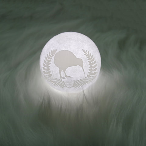 New Zealand Kiwi And Silver Fern Moon Lamp - Special Product - 1st New Zealand