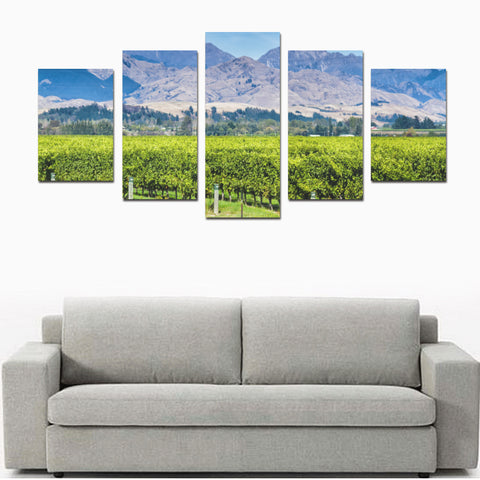 New Zealand Otago Canvas Print K4 - 1st New Zealand