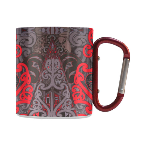 New Zealand Maori Rugby - New Zealand Insulated Mug K4 - 1st New Zealand