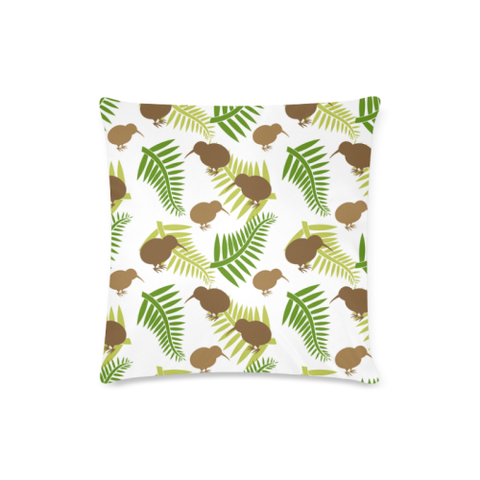 New Zealand Kiwi Pattern Zippered Pillow Cases
