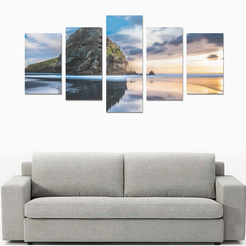 New Zealand Auckland Canvas Print K4 - 1st New Zealand