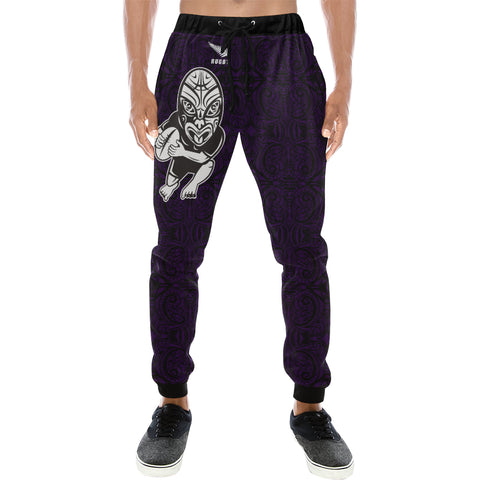 Rugby Haka New Style - Dark Blue Sweatpants - sweatpants for men/women