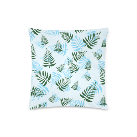 New Zealand Fern Leaves Pattern Zippered Pillow Cases 07