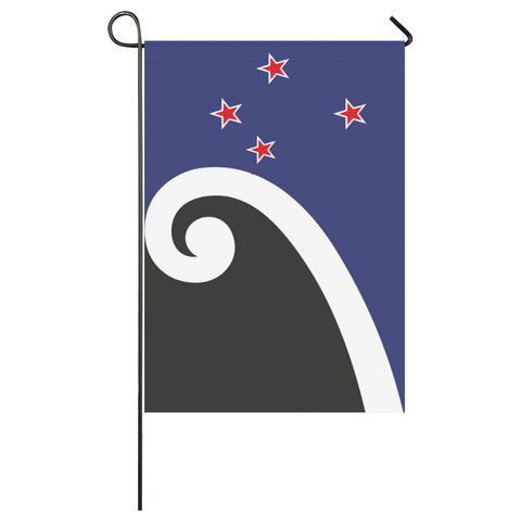 Koru New Zealand Garden Flag K4 - 1st New Zealand