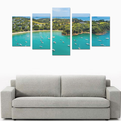 Image of New Zealand Auckland Canvas Print 04 - 1st New Zealand