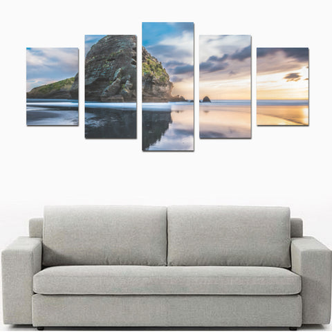 Image of New Zealand Auckland Canvas Print K4 - 1st New Zealand