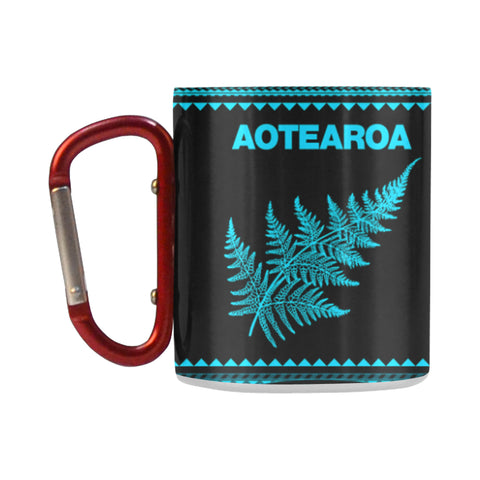 Aotearoa - New Zealand Blue Insulated Mug K4 - 1st New Zealand