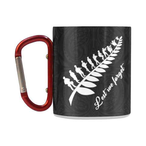 Lest We Forget - New Zealand Insulated Mug K5 - 1st New Zealand
