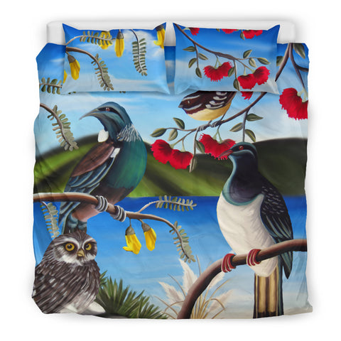 New Zealand Native Birds Bedding Set K5 - 1st New Zealand