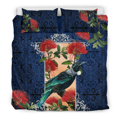 Image of New Zealand Bedding Set Tui and Pohutukawa K5 - 1st New Zealand