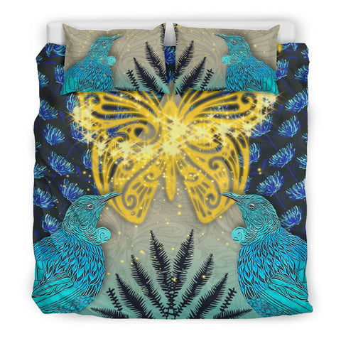New Zealand Butterfly Koru Bedding Set K5 - 1st New Zealand