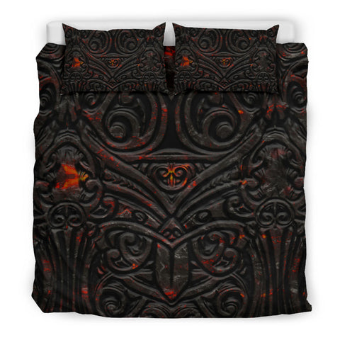 Image of New Zealand Warriors Bedding Set Maori Tiki Vocalno Style Th00 - 1st New Zealand