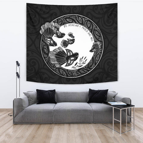 Image of New Zealand Fantails Tapestry K5 - 1st New Zealand
