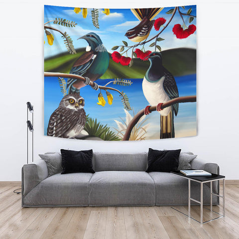 New Zealand Native Birds Tapestry K5 - 1st New Zealand
