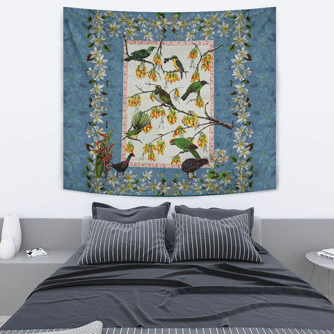 Image of Native Bird Duvet Cover Tapestry K59 - 1st New Zealand