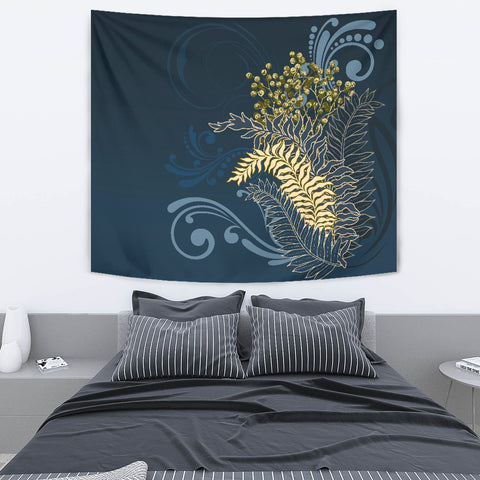 Silver Fern New Zealand Tapestry K5 - 1st New Zealand