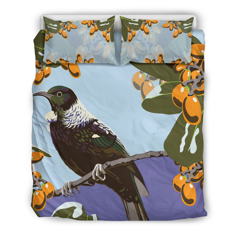 Image of Tui And Karaka Berry New Zealand Bedding Set A15 - 1st New Zealand