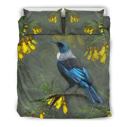 Kowhai Tui Bird New Zealand Bedding Set K5 - 1st New Zealand