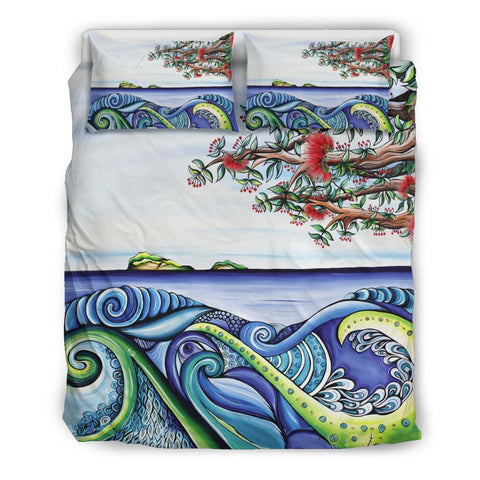 Image of Koru Bedding Set Pohutukawa